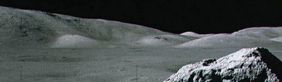 Strip of lunar land